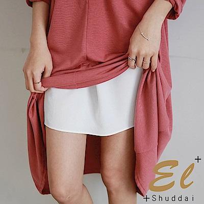 正韓 防走光彈性親膚襯裙褲-(白色)El Shuddai