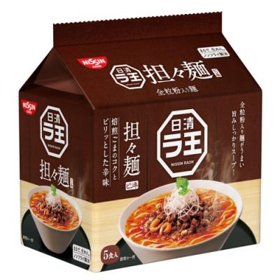 日清 5食袋裝麵-擔擔風味(475g)