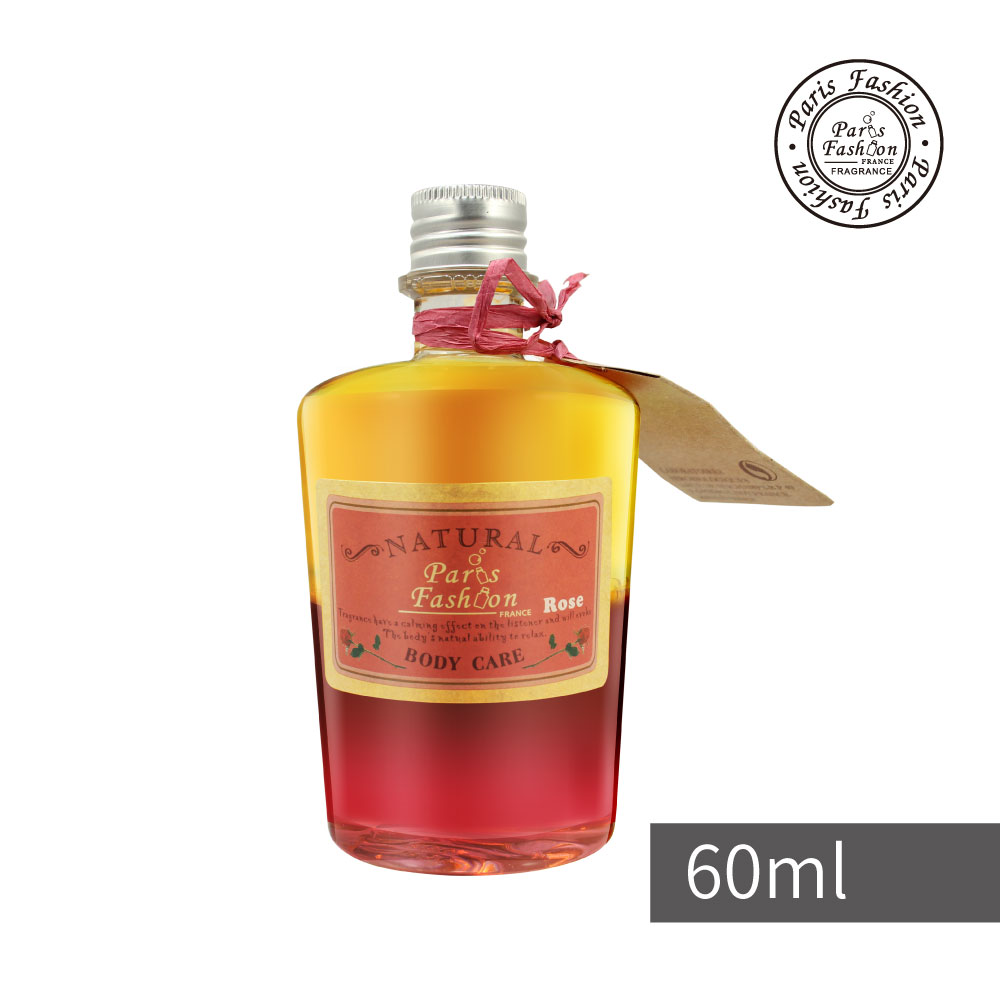 Paris fragrance 巴黎香氛-雙嬌律動按摩油60ml-玫瑰Rose