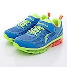 GOODYEAR戶外童鞋 緩震氣墊運動款 SE8216藍(中大童)C