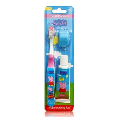 Peppa Pig 口腔保健組 (牙刷+牙膏25g+刷蓋)