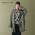 【MOSS CLUB】秋季長版造型-大衣(二色)