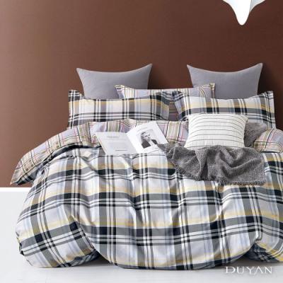 DUYAN竹漾-100%精梳純棉-雙人加大床包三件組-蘇格蘭 台灣製