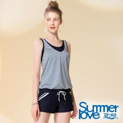 夏之戀SUMMERLOVE 連身褲二件式泳衣