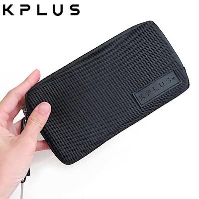 KPLUS 防潑水騎行小包Plus加長款(適用iPhone7+/8+/X)-黑