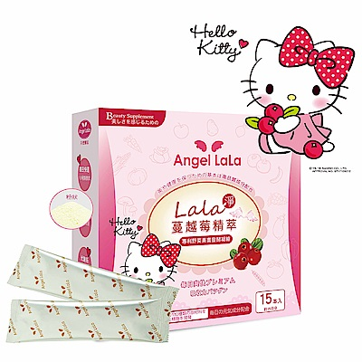 (即期品)Angel LaLa天使娜拉 LaLa蔬果酵素蔓越莓精萃(15包/盒)