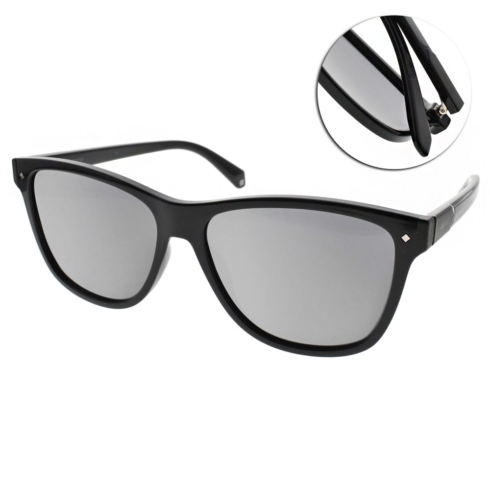 Polaroid 水銀偏光太陽眼鏡 潮流酷炫款/黑 #PLD6035S 807LM