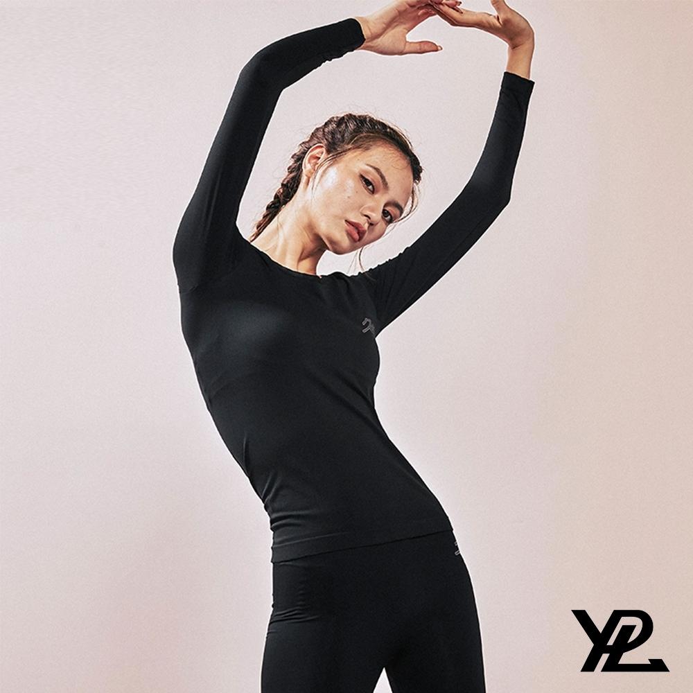 YPL&R92 恆溫保暖衣褲組 遠紅外HEATTECH 美麗不凍人(黑色)