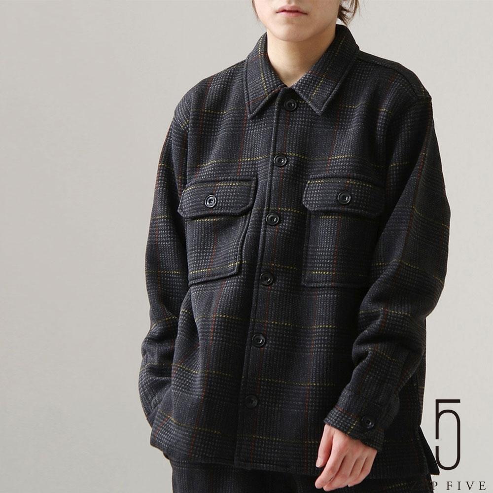 ZIP日本男裝 仿粗花呢格紋CPO軍裝夾克外套 (3色)