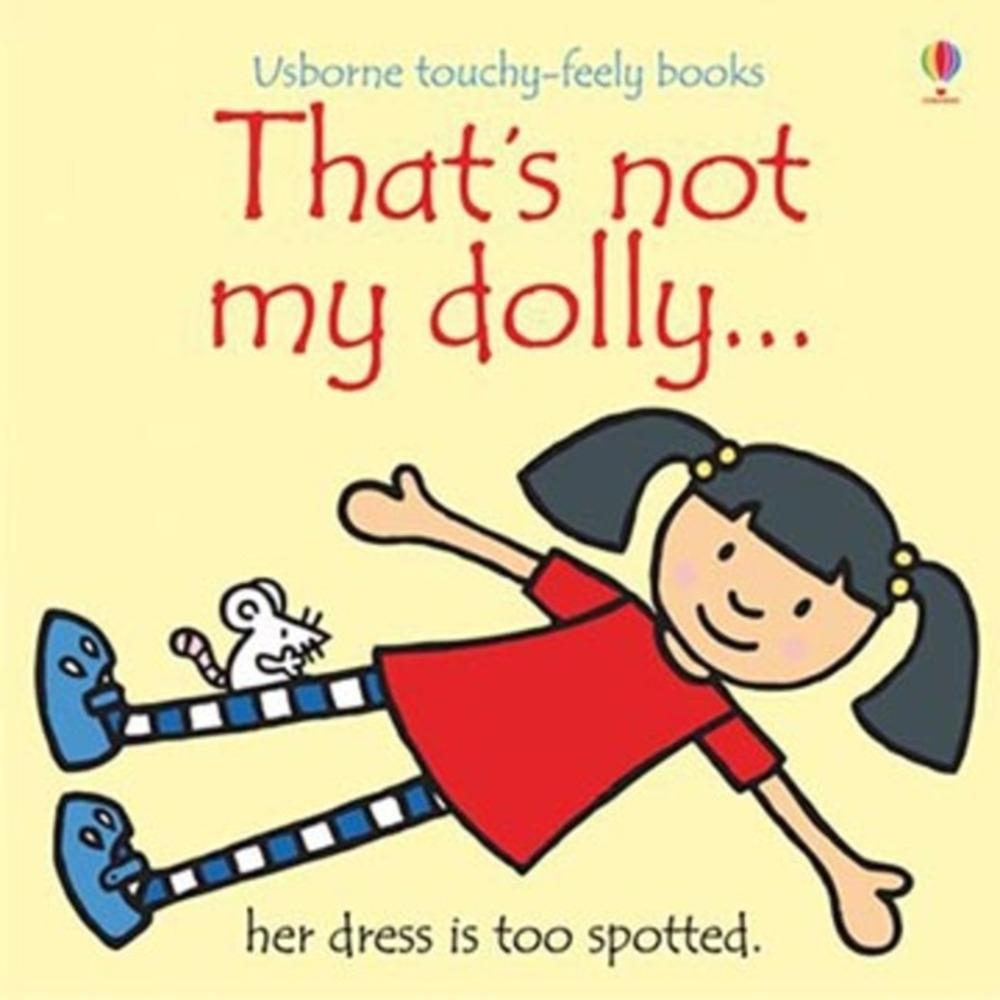 That's Not My Dolly 那不是我的洋娃娃觸摸書