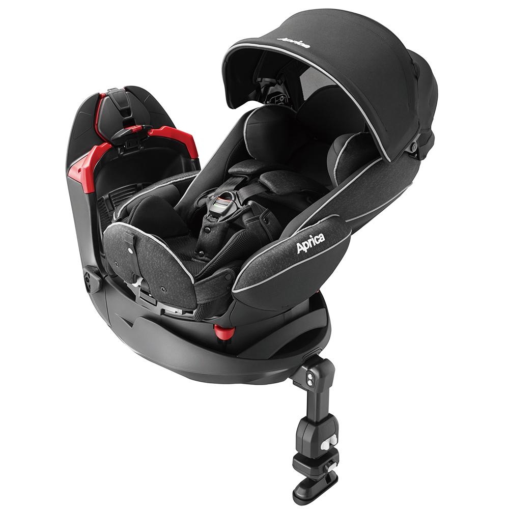 【Aprica】平躺型嬰幼兒汽車安全臥床椅 Fladea grow DX 旅程 月光星空