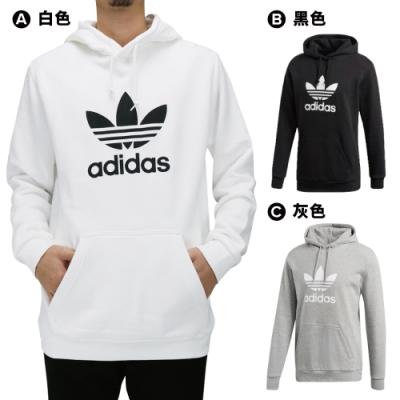 【時時樂限定】ADIDAS 男連帽上衣 (3款任選)