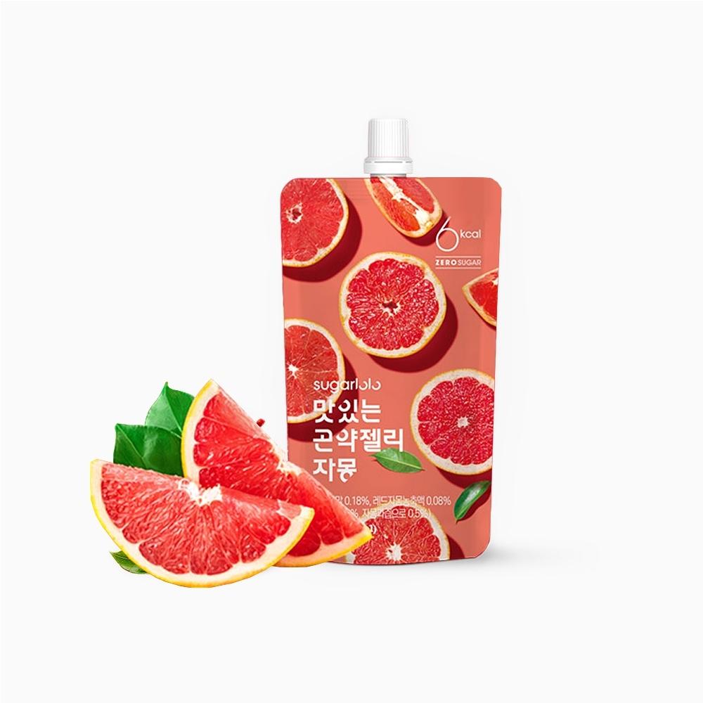 韓味不二 【韓國原裝】 蒟蒻果凍飲-葡萄柚風味 (150ml)