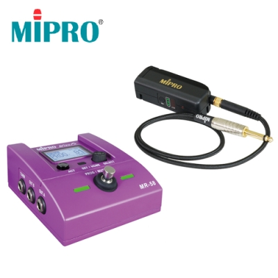 Mipro MR-58GE 電吉他貝斯無線導線組