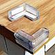 HA009 20入裝 L型桌角防護墊 透明矽膠軟墊 嬰幼兒專用 桌角防撞套 product thumbnail 1