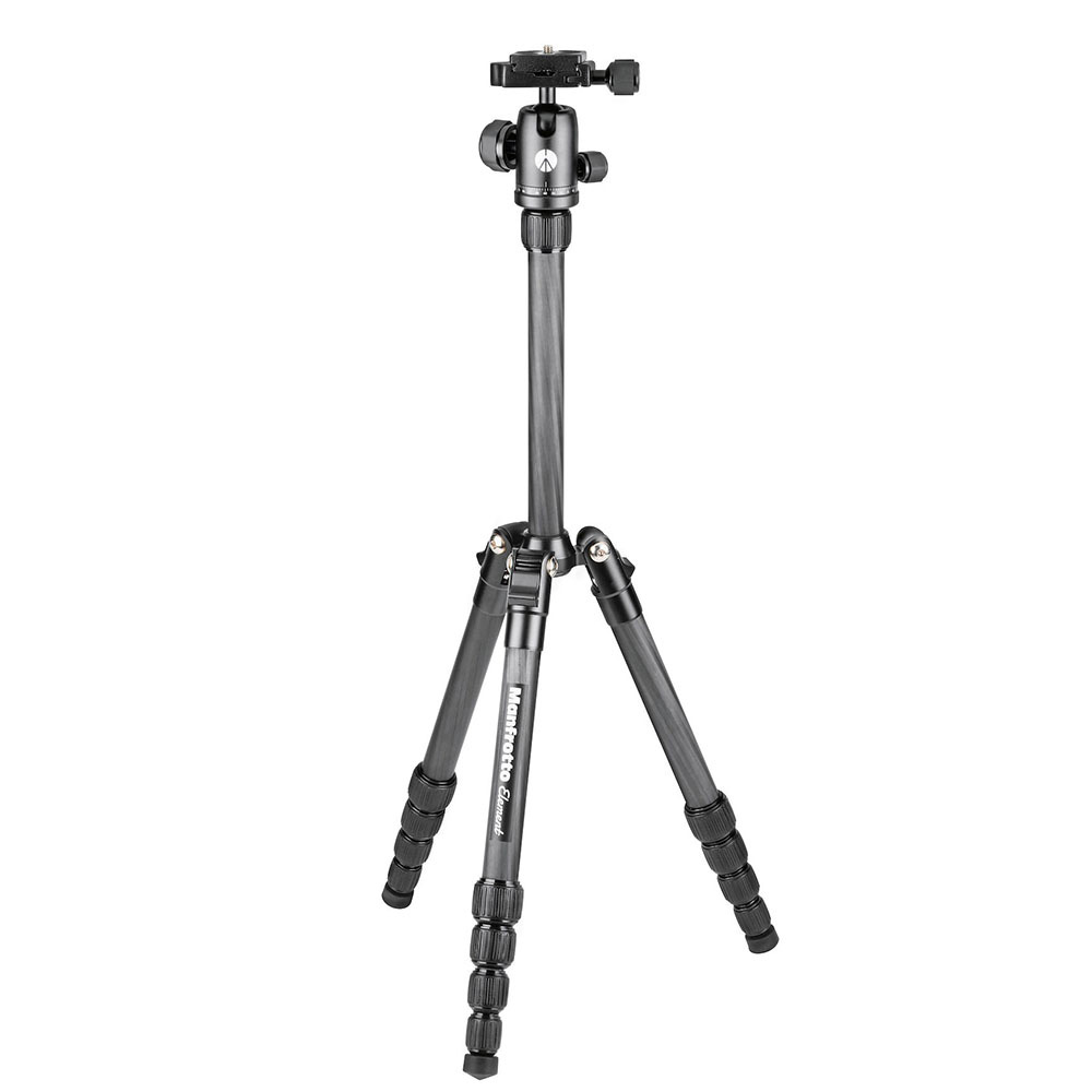 Manfrotto Element 碳纖維小型腳架-黑色(MKELES5CF-BH) product image 1