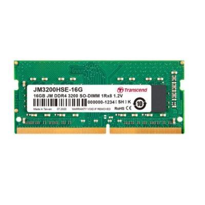Transcend創見 JetRAM DDR4-3200MHz 16GB 筆電記憶體