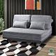 Hampton希托爾灰色布面雙人沙發床-150*110*87cm product thumbnail 1