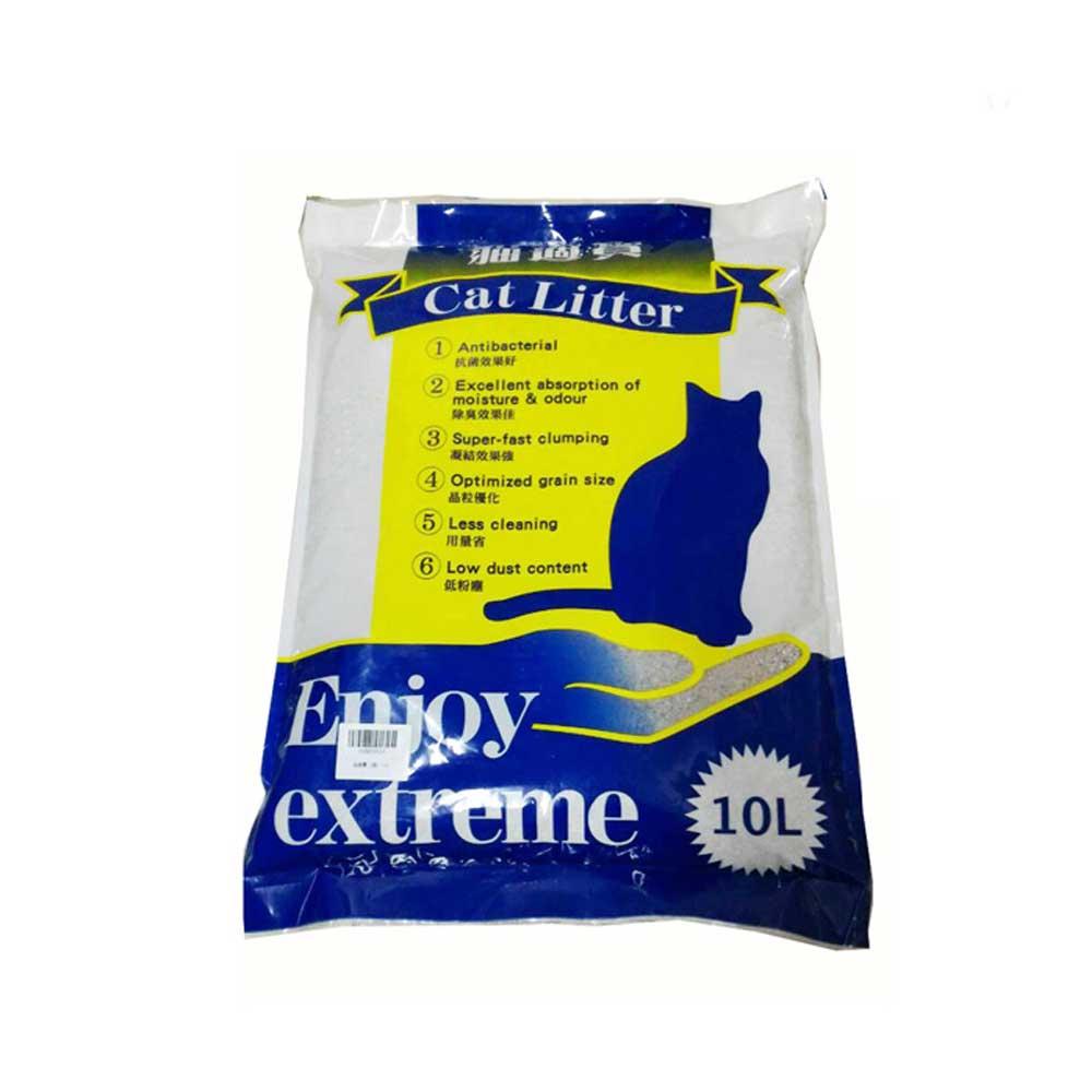 Cat Litter貓適寶 粗砂 10L-3包組