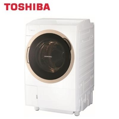 TOSHIBA 東芝 11公斤奈米悠浮泡泡洗淨變頻滾筒洗脫烘洗衣機 TWD-DH120X5G -含基本安裝+舊機回收