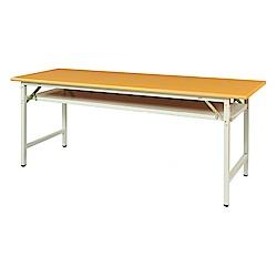 綠活居 阿爾斯環保6尺塑鋼大會議桌(二色可選)-180x60x74cm免組