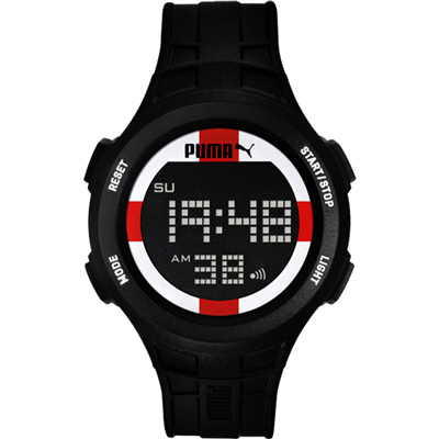 PUMA 復刻奧運英格蘭時尚運動腕錶-PU911301007