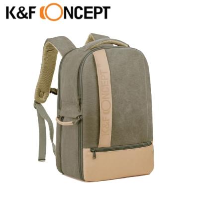 【K&F Concept】新戶外者 相機後 背包 L 草綠 (KF13.044v6)