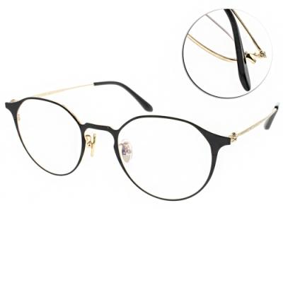 NINE ACCORD眼鏡 簡約貓眼款/黑-金 #PLACO-FLATA1 C1