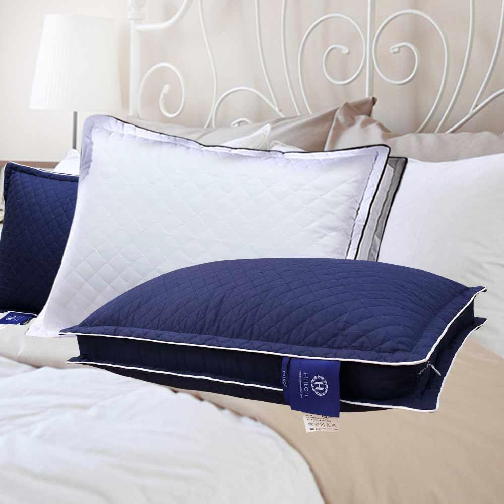 Hilton 希爾頓 VIP貴賓 純棉立體銀離子抑菌獨立筒枕 1入 @ Y!購物
