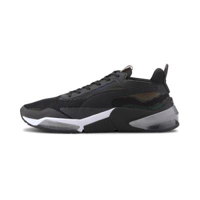 PUMA-LQDCELL Optic XI Iridescent 男女訓練運動鞋-黑色