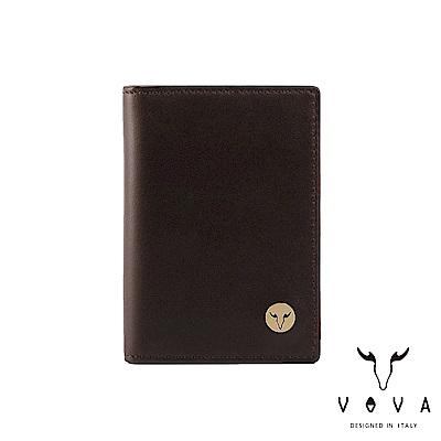 VOVA 費城系列3卡名片夾-煙草棕