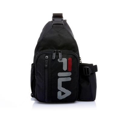 FILA 小型單肩後背包-黑色 BPT-5105-BK