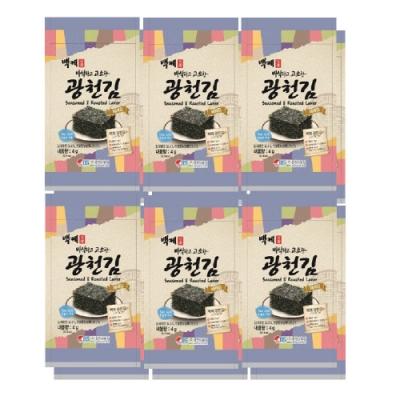 百濟 傳統烤海苔(4g*12入)