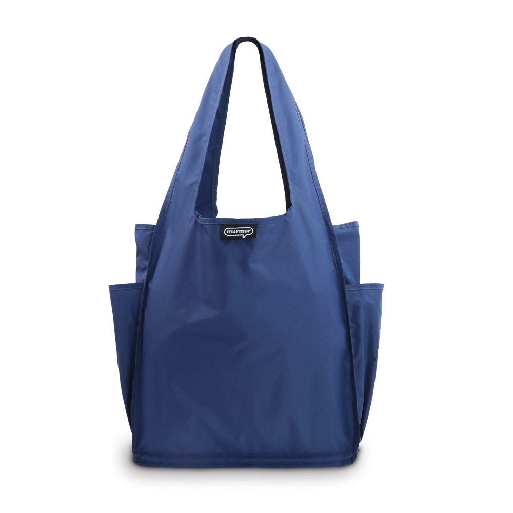 murmur A4環保購物袋│海藍