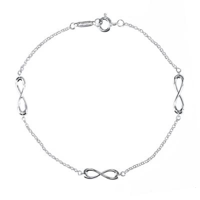 Tiffany&Co. 永恆無限的愛925純銀手鍊