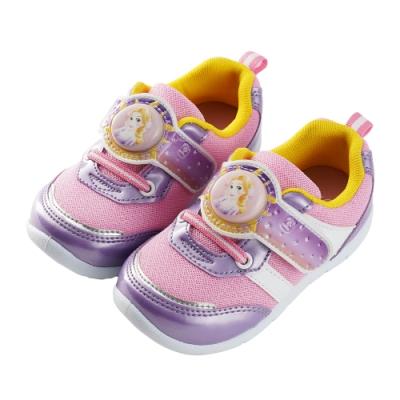 迪士尼童鞋 長髮公主  樂佩電燈休閒鞋