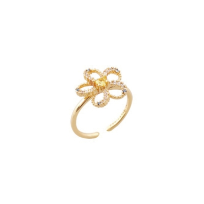 NOONOO FINGERS MINI PLUMERIA RING 戒指