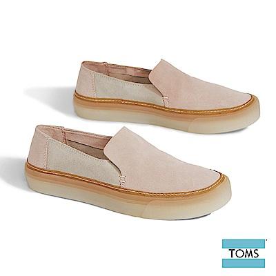 TOMS 麂皮果凍膠底休閒鞋-女款