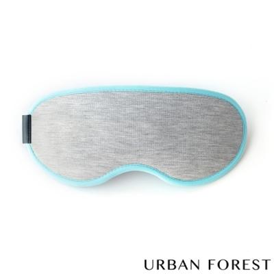 URBAN FOREST都市之森 花卷-旅行眼罩 冰雪灰