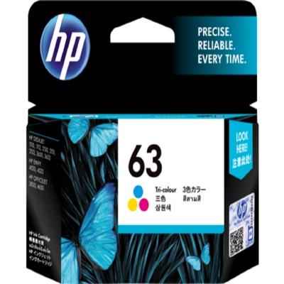 HP F6U61AA 原廠彩色墨水匣 NO:63
