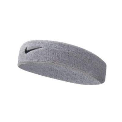 Nike 頭帶 Swoosh 運動 灰 黑