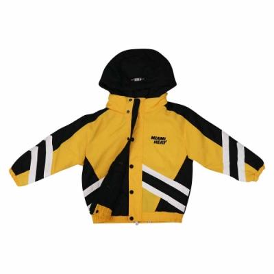 NBA Style WOVEN JUMPER 兒童 鋪棉 連帽外套 熱火隊