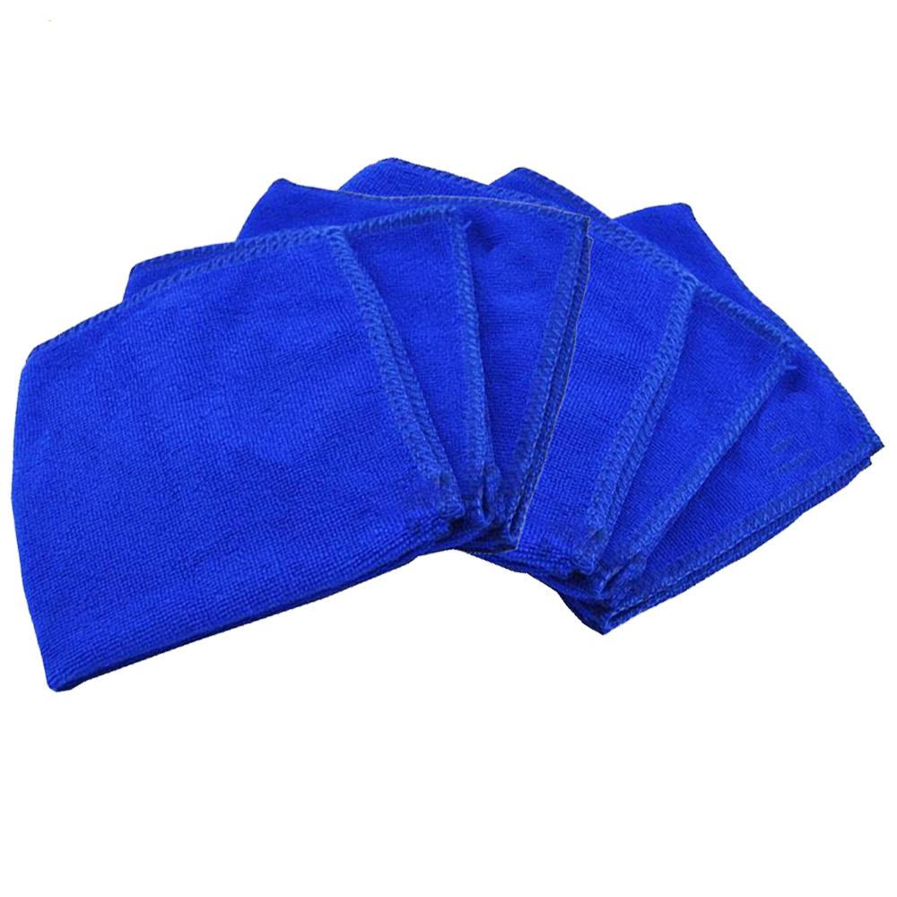 月陽超值6入薄款29cm超細纖維洗車巾吸水巾擦車布抹布 (N2929)