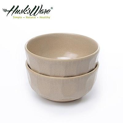 美國Husk's ware 稻殼天然無毒環保日式大餐碗(2入)