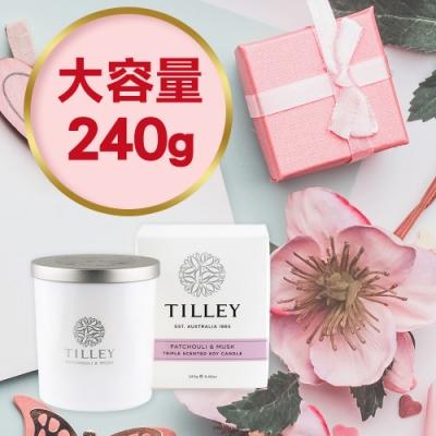 【Tilley 百年特莉】澳洲原裝微醺大豆香氛蠟燭240g(共7款可任選)