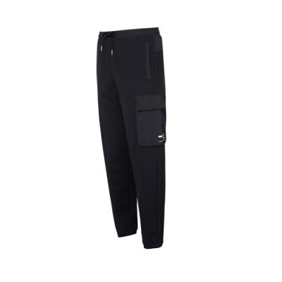 FILA #Project 7 針織束口長褲-黑色 1PNU-5223-BK