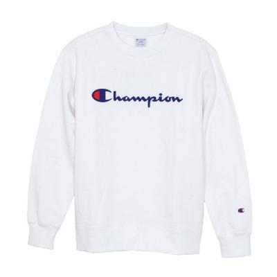 Champion Basic Logo 經典款大學Tee 白色