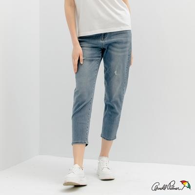 Arnold Palmer -女裝-磨破牛仔男友褲-淺藍色