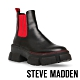 STEVE MADDEN-TUSK 簡約撞色經典厚底短靴-黑色 product thumbnail 1