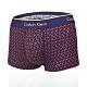 CALVIN KLEIN MICRO 超細纖維絲質 平口/四角CK內褲-幾何紫 product thumbnail 1
